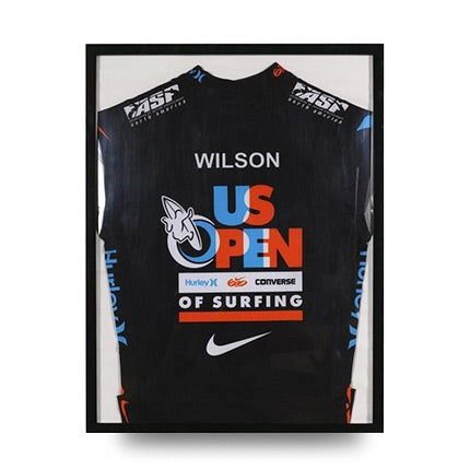 Julian Wilson's U.S. Open of Surfing Rash Guard Jersey, ca. 2012