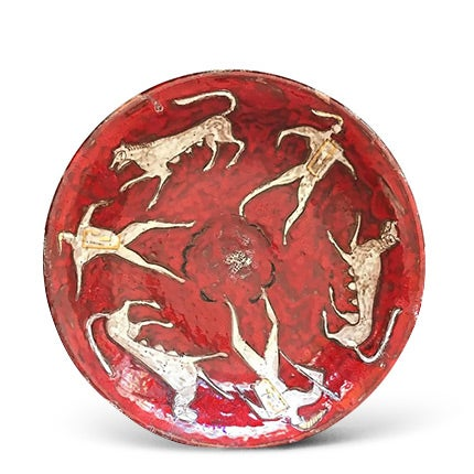 Eugenio Pattarino Ceramic Charger, 1950s