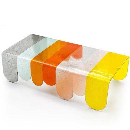 Alessandro Zambelli Murano Glass Coffee Table, Made to Order