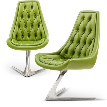 Chromcraft Chairs, 1960s