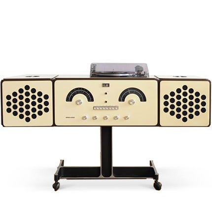 Brionvega Record Player Sideboard Radio, 1965