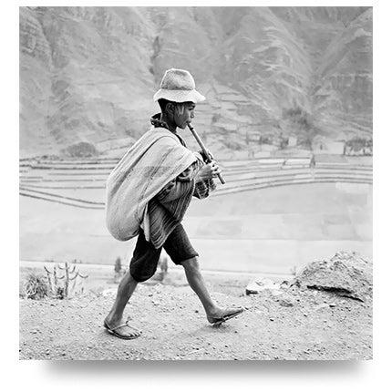 Werner Bischof, On the Way to Cuzco, Peru, 1954