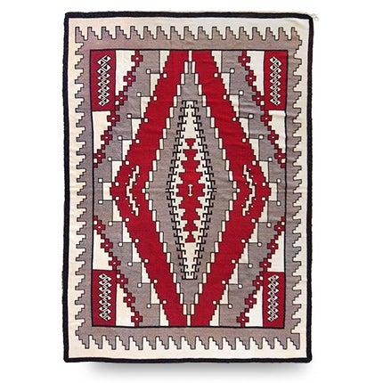 Large Navajo Rug, ca. 1940