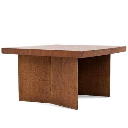 Frank Lloyd Wright Partners Desk, 1955
