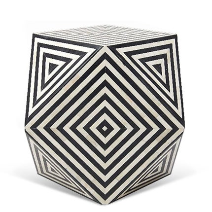Aelfie Geometric Cube Table, 2017