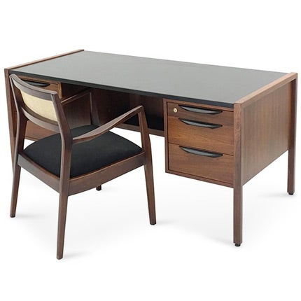 Jens Risom Executive Desk and Chair, ca. 1955