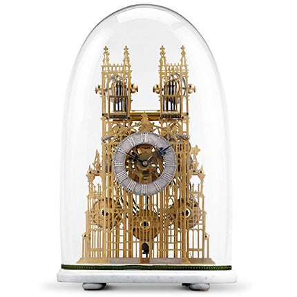 Westminster Abbey Architectural Skeleton Clock, ca. 1860