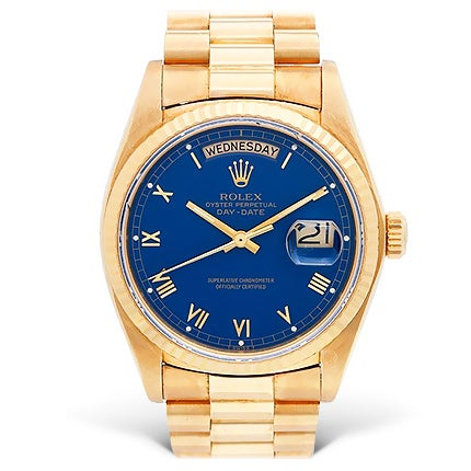 Rolex Yellow Gold Wristwatch, 21st Century
