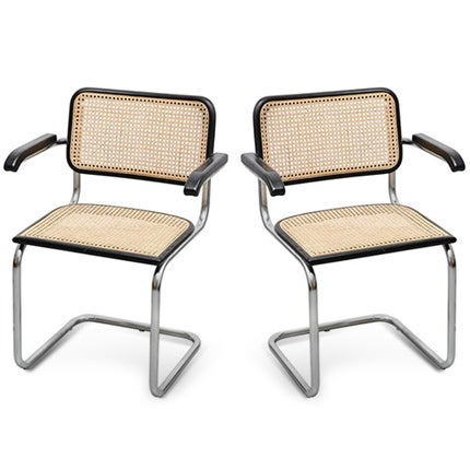 Marcel Breuer Cesca Chairs, ca. 1970