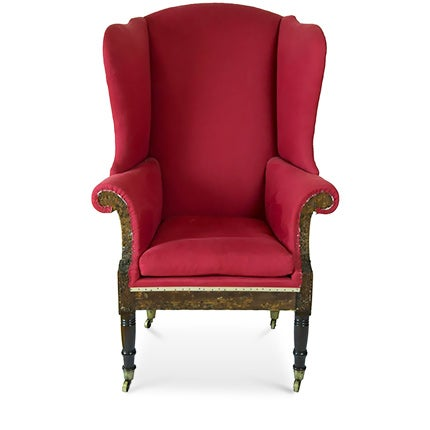 Federal Sheraton Wing Chair, 1800–10