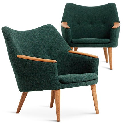 Kurt Østervig Lounge Chairs, 1958