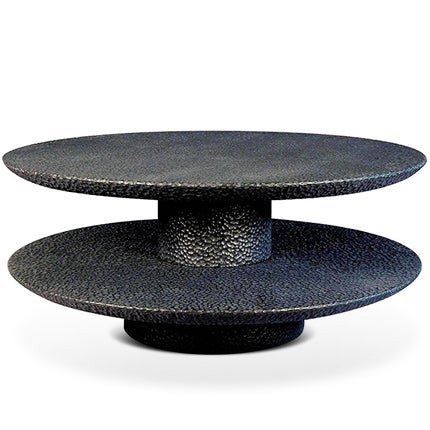 John Eric Byers Two-Tier Table, 2016