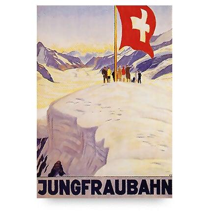 Emil Cardinaux, Jungfraubahn, 1928