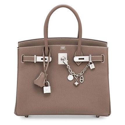 Hermès 30cm Birkin Palladium Hardware Bag, 21st Century