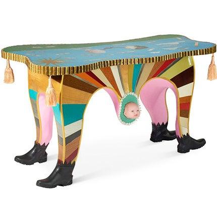 Rajdar Coll-Part Desk, Made to Order
