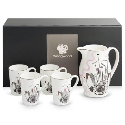 Eric Ravilious Wedgwood Porcelain Lemonade Set, 1986