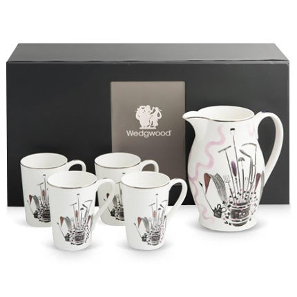Eric Ravilious Wedgwood Porcelain Lemonade Set, 1986
