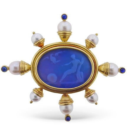 Elizabeth Locke Brooch, 20th Century