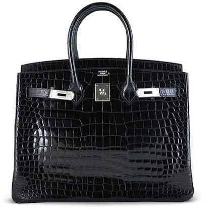 Hermès Birkin 35 Porosus Crocodile Handbag, 21st Century