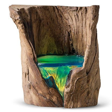 RR Sweden Wood And Resin Chair, 2013