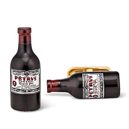 Hand-Carved Wine Bottle Cufflinks, 2014