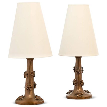 Garouste and Bonetti Table Lamps, 1995