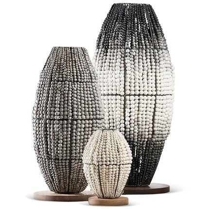 Klaylife Beaded Floor Lamps, Made to Order