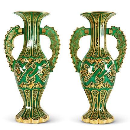 Bohemian Vases, ca. 1920