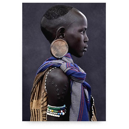 Mario Marino, Mursi Girl, Ethiopia, 2011
