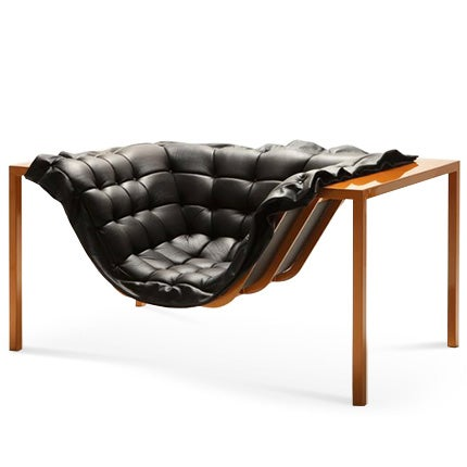 Harow Bronze and Leather Armchair, 2017