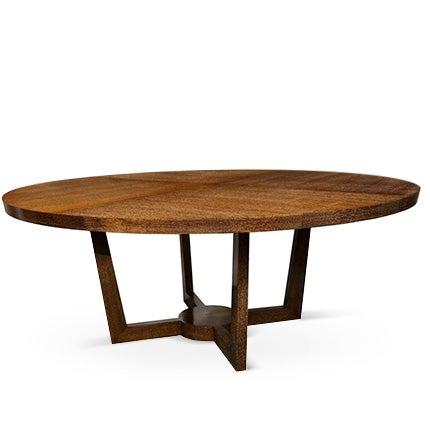 Cerused Oak Dining Table, 1940