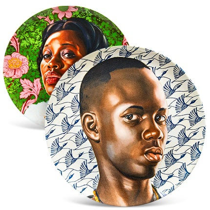 Kehinde Wiley Plate Set, 2015