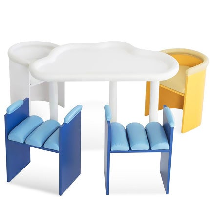 Sam Stewart Table and Chairs Set, 2017