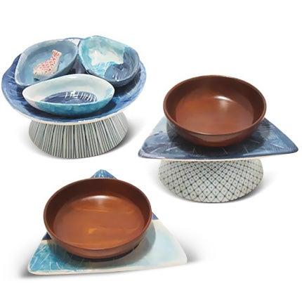 Rodrigo Almeida Ceramic Bowls, 2014
