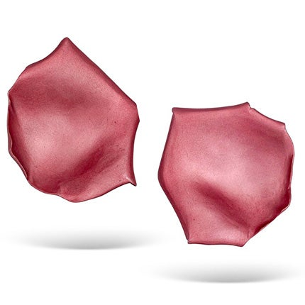 JAR Rose Petal Clip-On Earrings, Late 20th Century
