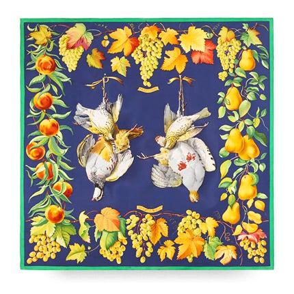 Henri de Linares for Hermès Silk Scarf, 1970s