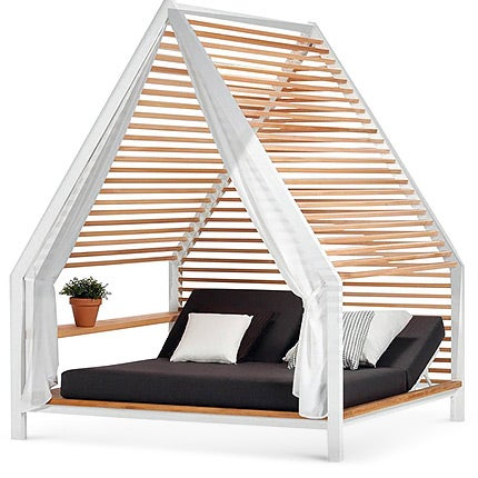 Patricia Urquiola Outdoor Pavilion with Daybed, Made to Order