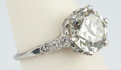 How to Buy a Vintage or Antique Engagement Ring