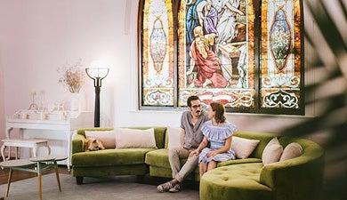 How a Rundown Old Church Became a Hip Wedding Venue