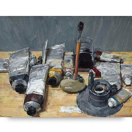 Ben Henriques, Paints, 2016
