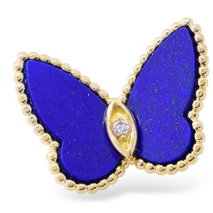Van Cleef & Arpels Butterfly Pin, 1990s