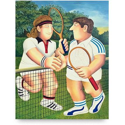 Beryl Cook, Tennis, 1990