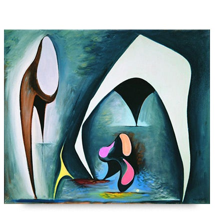 Lorser Feitelson, Magical Forms, 1945