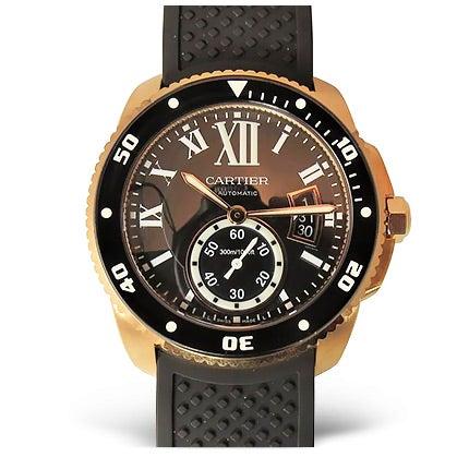 Cartier Rose Gold Wristwatch, 21st Century
