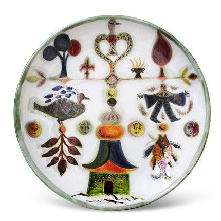 David Sol Ceramic Platter, 1950s