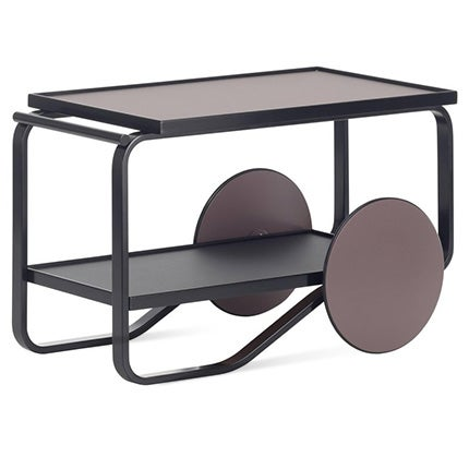 Alvar Aalto and Hella Jongerius for Artek Tea Trolley, 2018