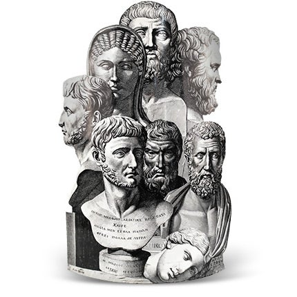 Fornasetti Umbrella Stand, 20th Century