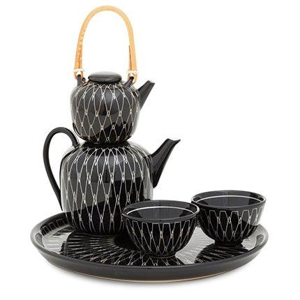 Hedwig Bollhagen Tea Set, 21st Century