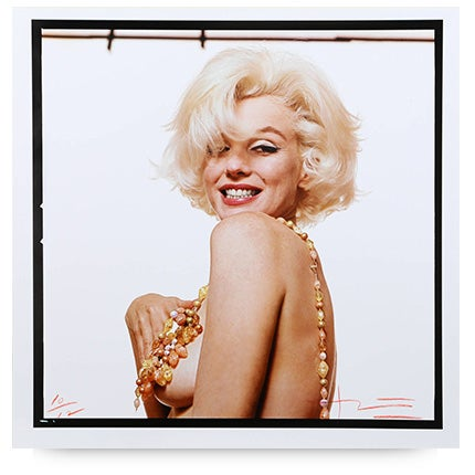 Bert Stern, <i>Marilyn Monroe, The Last Sitting</i>, 1962