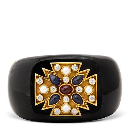 Verdura Maltese Cross Bracelet, 21st Century